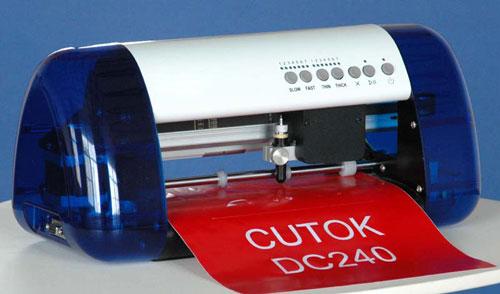 103 - Máy cắt decal mini DC240