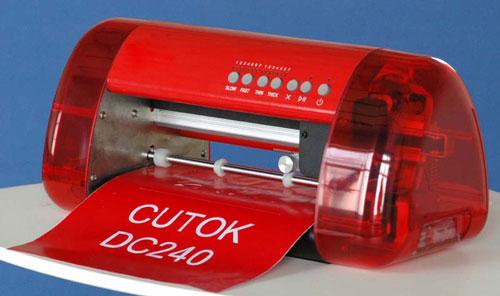 104 - Máy cắt decal mini DC240