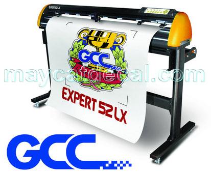 Máy cắt bế tem nhãn decan GCC Expert 52 LX
