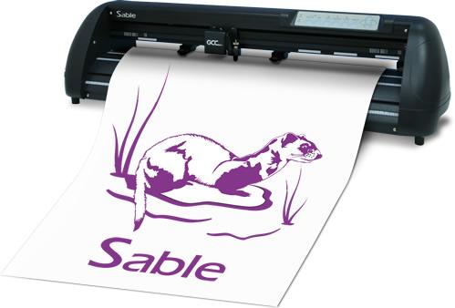 Máy cắt decal Sable (Gcc)