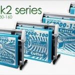 Máy cắt chữ cũ decal Graphtec FC7000 Nhật Bản
