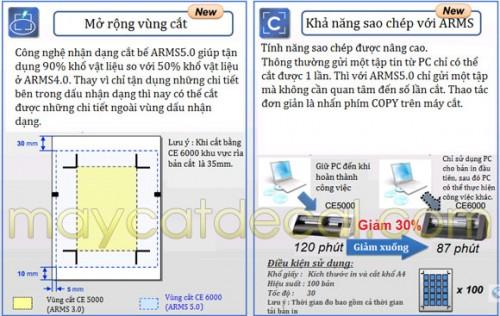 PHẦN MỀM ARMS5.0 NÂNG CAO của Graphtec CE6000