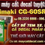 Hai loại máy cắt bế tem nhãn mạnh về Việt Nam