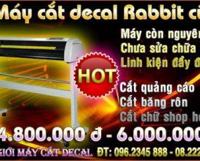 Máy cắt decal Rabbit HX630 cũ