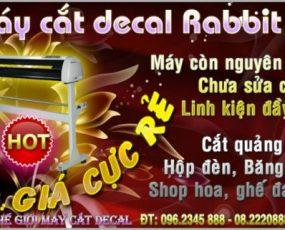 Máy cắt decal cũ Rabbit HX 1200