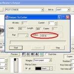 Khắc phục lỗi phần mềm ArtCut máy cắt decal TQ