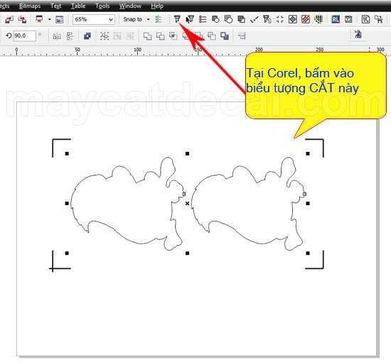 Cách tùy chỉnh tính năng tuôn giấy máy cắt decal Mimaki CG-60SRIII/100/130SRIII