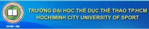 Trường Đại học Thể dục thể thao Tp.HCM