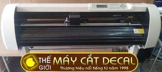 máy cắt chữ decal cũ còn tốt Rabbit HX630