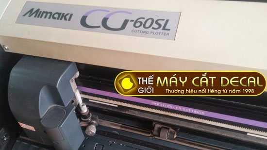 máy cắt chữ decal Mimaki CG-60SL cũ