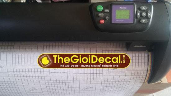 máy cắt decal Foison khổ 1,2m