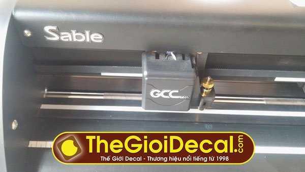 máy cắt decal Đài Loan GCC Sable cũ