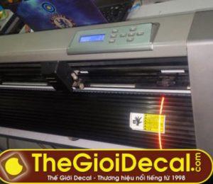 Bán máy cắt decal Kingcut HK cũ còn 98% giá 5,5 triệu đồng