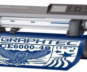 Máy cắt bế tem nhãn Graphtec CE6000-40 Plus cho nhà in nhanh