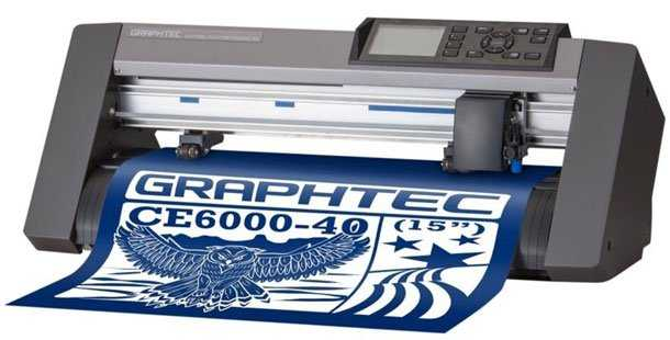 Máy cắt bế tem nhãn decal Graphtec CE6000-40