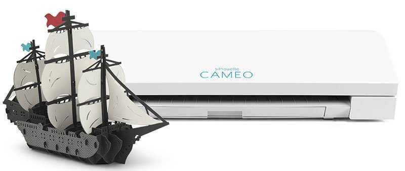 Một sản phẩm được cắt từ máy cắt mini Cameo 3