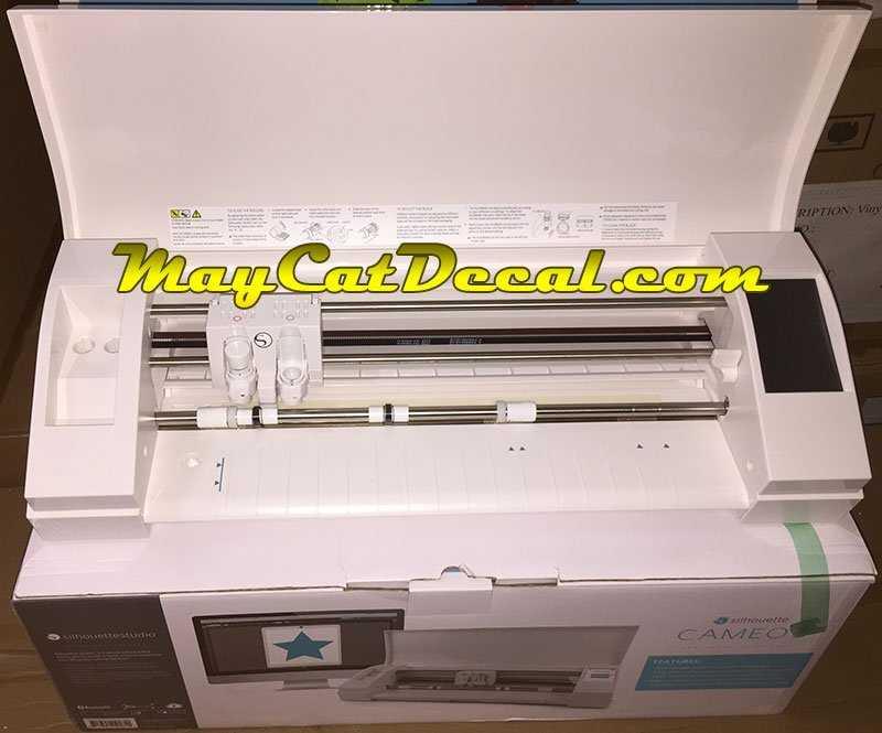 Máy cắt bế decal mini A3 Cameo 3 (Mỹ)