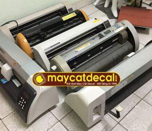 Lô máy cắt decal cũ Nhật, Đài Loan, TQ cũ thanh lý