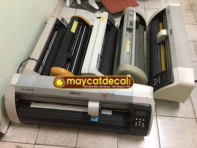 Máy cắt decal cũ bán tháng 2/2018