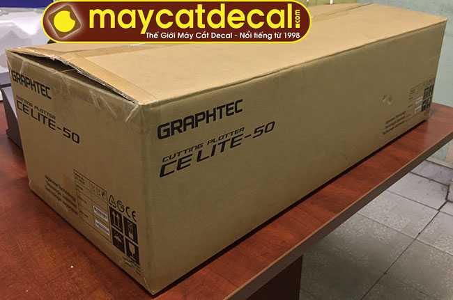 Máy cắt Graphtec CE Lite 50 nguyên thùng