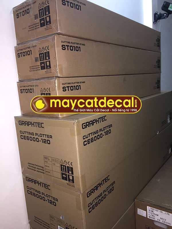 Máy cắt decal Graphtec CE6000-120 Plus tại Thế Giới Máy Cắt Decal