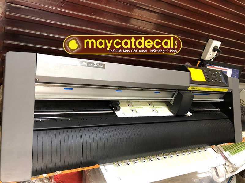 Máy cắt decal Graphtec CE6000-60 Plus cắt đứt vật liệu dễ dàng
