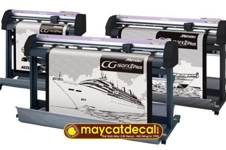 Máy cắt decal Mimaki CG-75FXII Plus, CG-130FXII Plus, CG-160FXII Plus