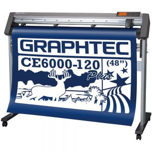 Graphtec CE6000-120 Plus - Máy cắt bế decal khổ lớn 1m2 cực tốt