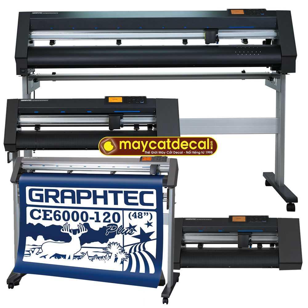 Máy cắt decal Graphtec CE6000 Plus (40, 60, 120cm) vì sao HOT?