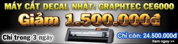 Khuyến mãi máy cắt Graphtec CE6000